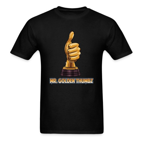 Mr. Golden Thumbz 1K Subscriber Achievement - Men's T-Shirt