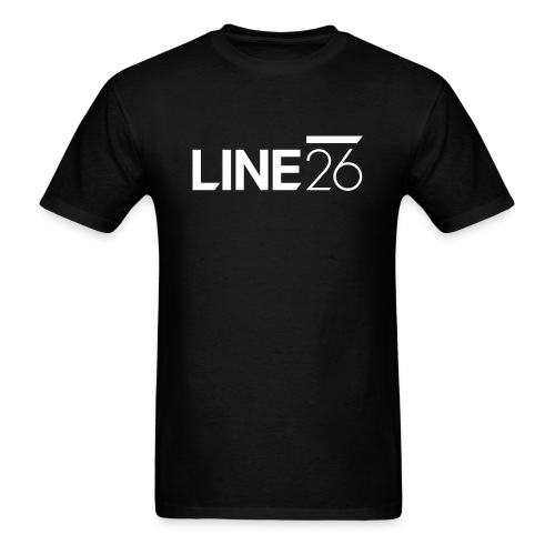 Line26 Logo (Light Version) - Men's T-Shirt