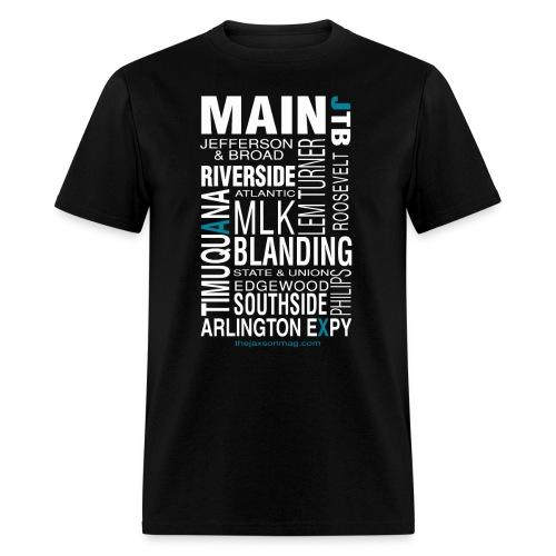 Jacksonville Streets - Men's T-Shirt