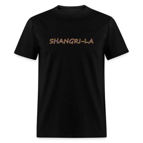 Shangri La gold blue - Men's T-Shirt