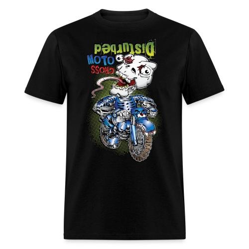 Disturbed Motocross Racer - Men's T-Shirt