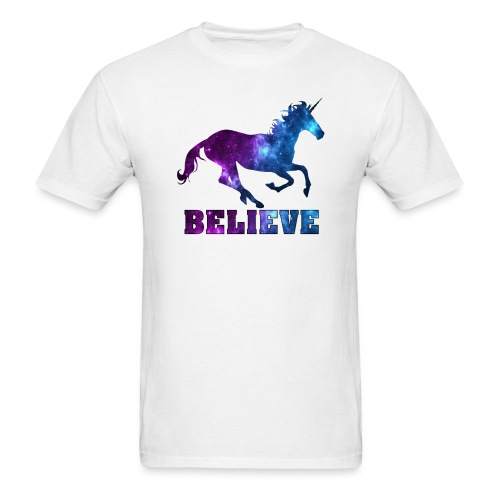 Believe Unicorn Universe 9 - Men's T-Shirt
