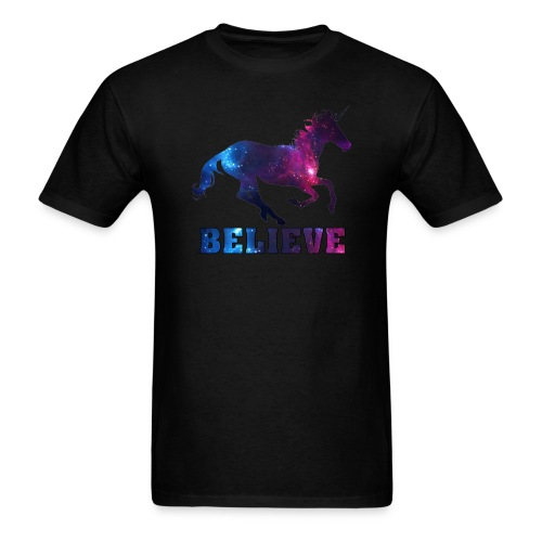 Believe Unicorn Universe 7 - Men's T-Shirt
