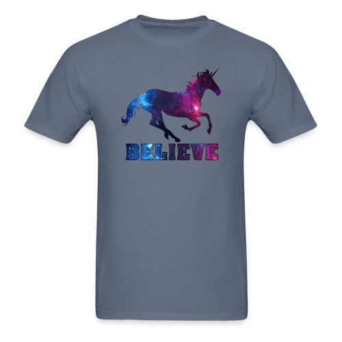 Believe Unicorn Universe 7 - Men's T-Shirt