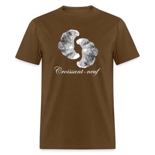 croissant3 white - Men's T-Shirt