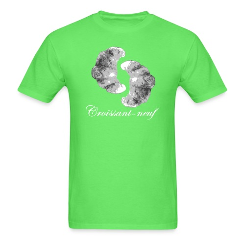 croissant3 white - Men's T-Shirt