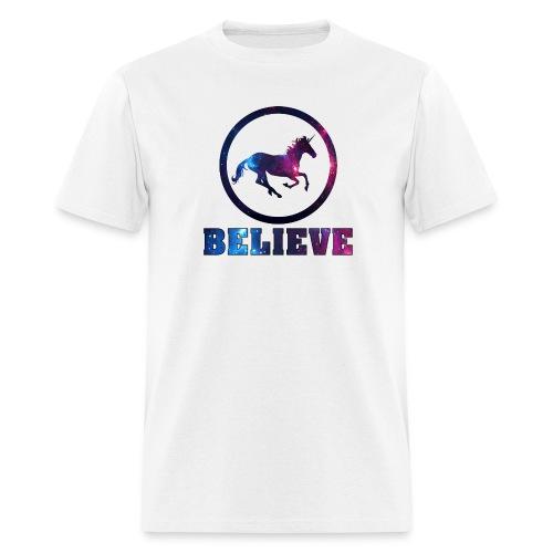 Believe Unicorn Universe 4 - Men's T-Shirt