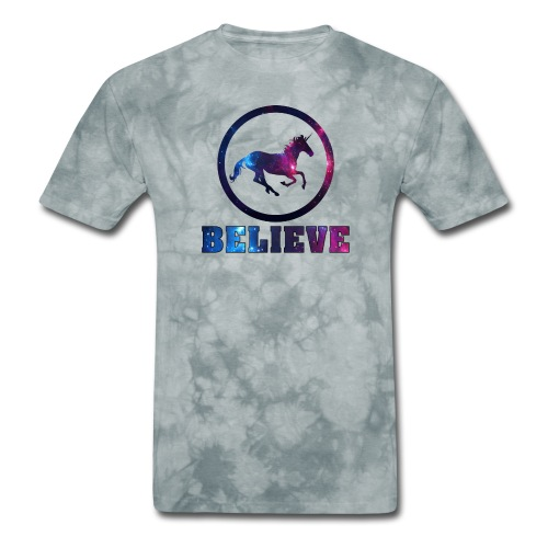 Believe Unicorn Universe 4 - Men's T-Shirt