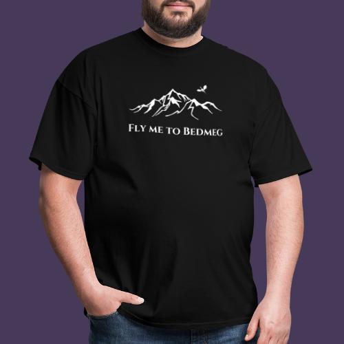 Fly Me to Bedmeg (white) - Men's T-Shirt