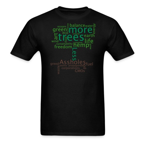 tree1mon - Men's T-Shirt