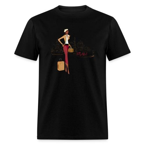 BrowOutfitPNG png - Men's T-Shirt