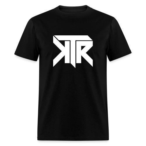 KTR Logo White - Men's T-Shirt