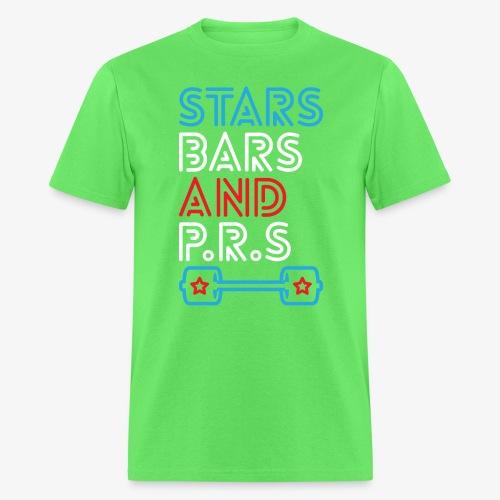 Stars, Bars And PRs - Men's T-Shirt