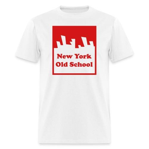 nyoslogoshirt converted - Men's T-Shirt