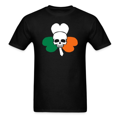 irish_skull_shamrock - Men's T-Shirt