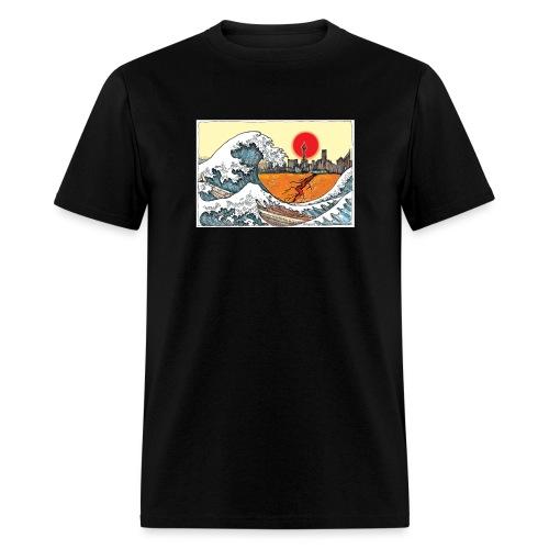 t shirts Wave no words copy - Men's T-Shirt