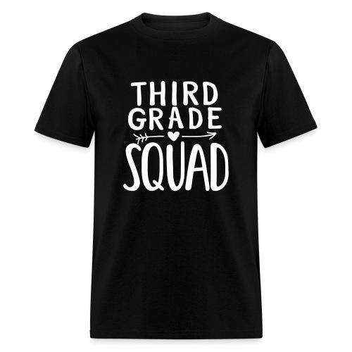Third Grade Squad Teacher Team T-Shirts - Men's T-Shirt