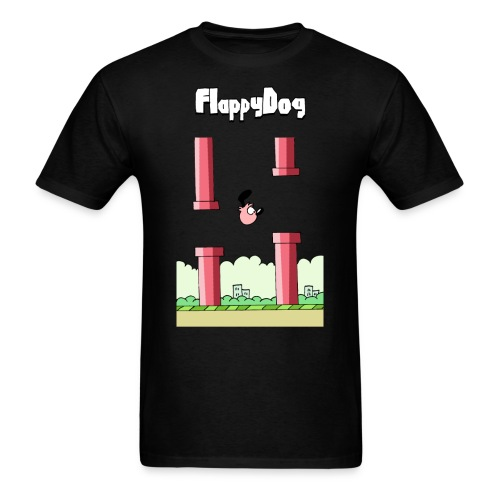FlappyDog png - Men's T-Shirt