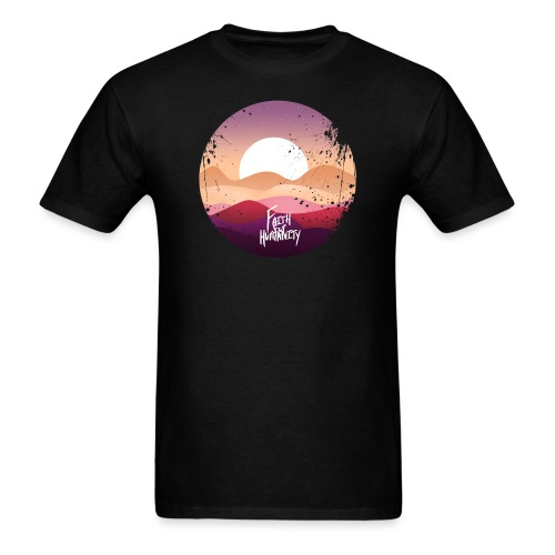 FFH DESIGN 1 black tshirt png - Men's T-Shirt