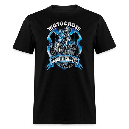 Motocross Throttle Strong - Men's T-Shirt
