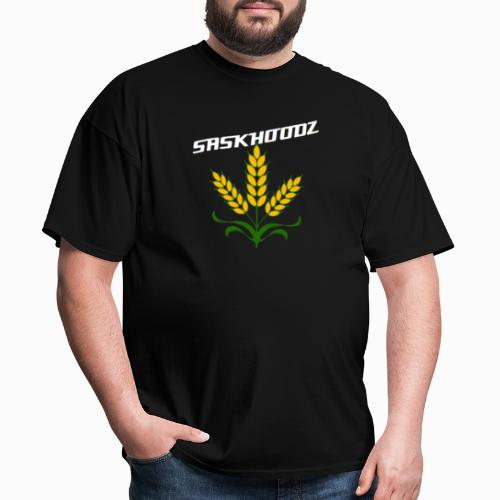 saskhoodz wheat - Men's T-Shirt