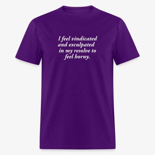 I feel horny t shirt, funny sexy t shirt - Men's T-Shirt
