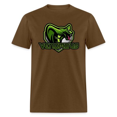 Venomous Text Logo - Men's T-Shirt