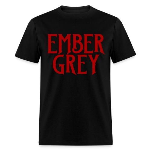 Ember Grey Name Plate - Men's T-Shirt