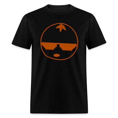 DaSourOrange Minimalist Logo Design - Men's T-Shirt