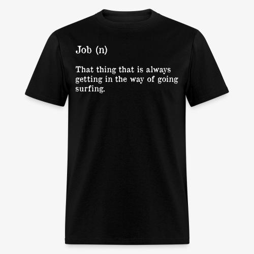 job dictionary - Men's T-Shirt