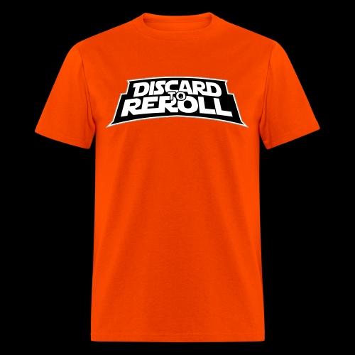 Discard to Reroll: Logo Only - Men's T-Shirt