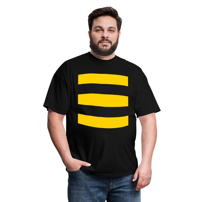 Striped Bee Front