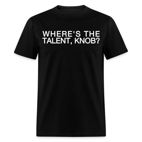 Talent Knob T-shirt - Men's T-Shirt