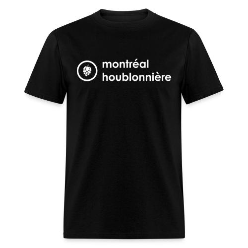 Logo blanc - Men's T-Shirt