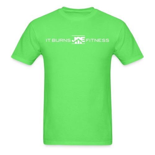 It Burns Joe Fitness - Men's T-Shirt