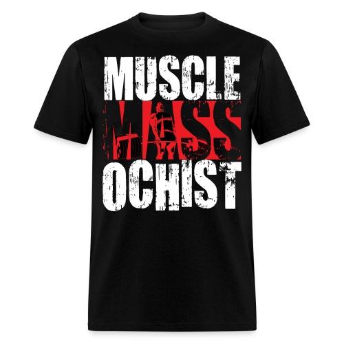 MuscleMassochistShirtRed1 png - Men's T-Shirt