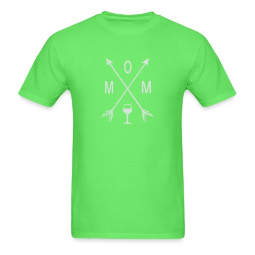 Mom Wine Time - Men's T-Shirt