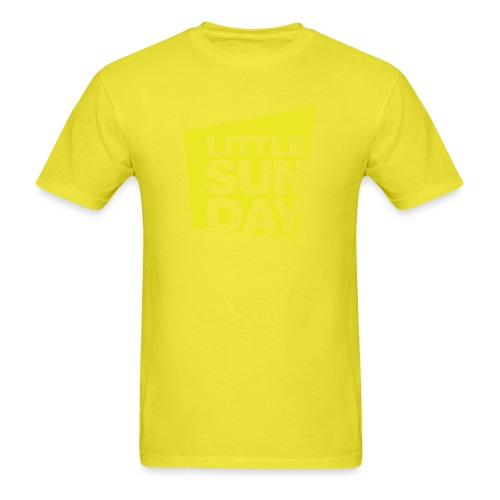 littleSUNDAY Official Logo - Men's T-Shirt
