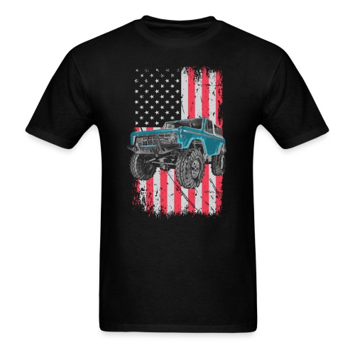 Bronco Drop the Hammer Truck Men's T-Shirt - Men's T-Shirt