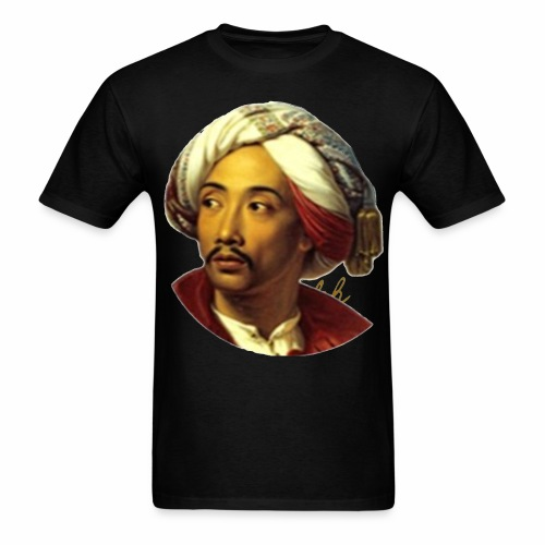 rs portrait head print 01 - Men's T-Shirt