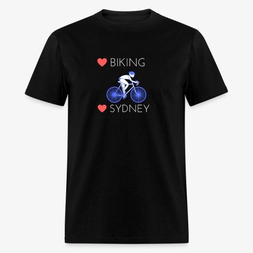 Love Biking Love Sydney tee shirts - Men's T-Shirt