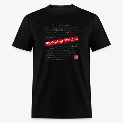 Wickedest Woman Logo Accessories - Men's T-Shirt