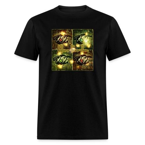 KFree Signature cosmic art - Men's T-Shirt
