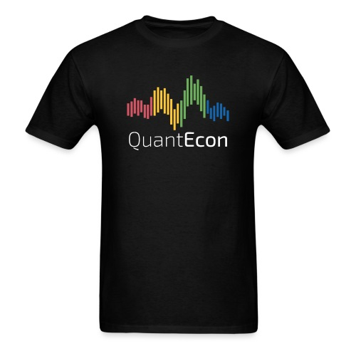 QuantEcon Official Logo #2 - Men's T-Shirt