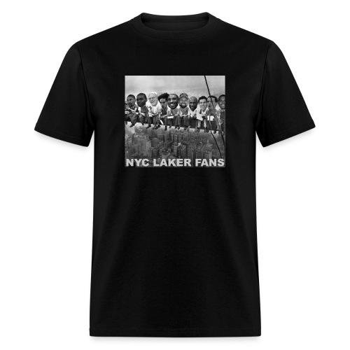 newyorkconstructionworkers text - Men's T-Shirt