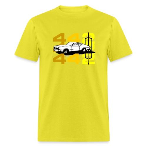 auto_oldsmobile_442_002a - Men's T-Shirt