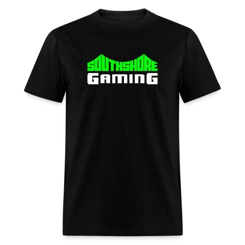 SSG Logo Color White - Men's T-Shirt