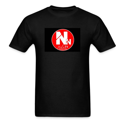 logo NN MEDIA TV - Men's T-Shirt
