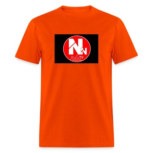 logo NN MEDIA TV - Men's T-Shirt