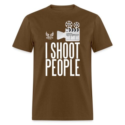 I Shooot People png - Men's T-Shirt